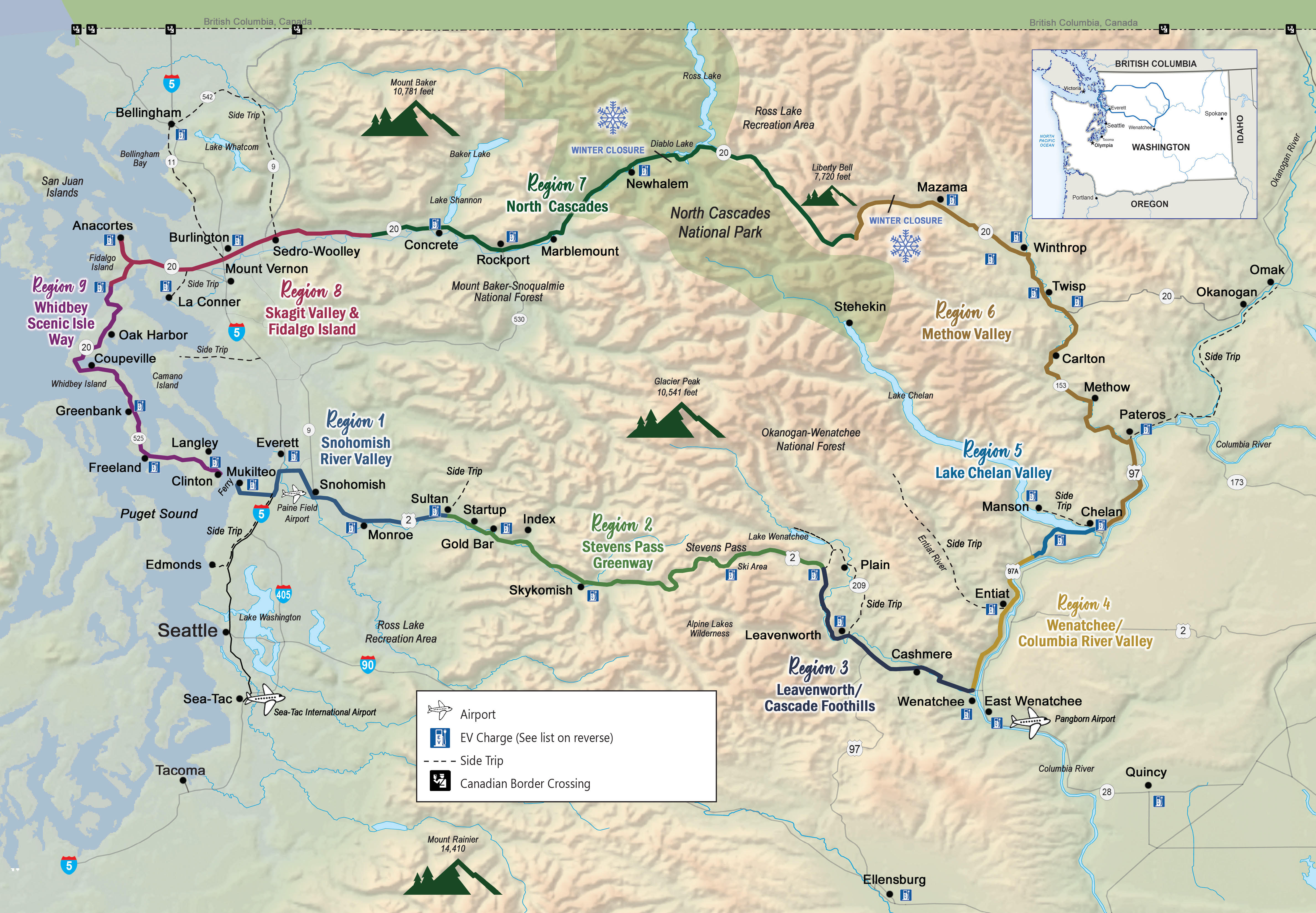 Washington\'s Ultimate Road Trip - The Cascade Loop Scenic Byway